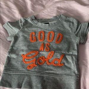 Good as gold short sleeve shirt